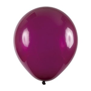 Balão de Festa Redondo Profissional Látex Cristal - Bordeaux - Art-Latex - Rizzo Balões