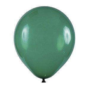Balão de Festa Redondo Profissional Látex Cristal - Verde - Art-Latex - Rizzo Balões