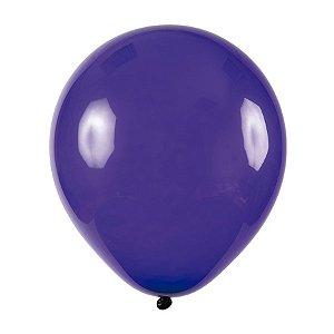 Balão de Festa Redondo Profissional Látex Cristal - Violeta - Art-Latex - Rizzo Balões