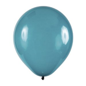 Balão de Festa Redondo Profissional Látex Cristal - Azul Turquesa - Art-Latex - Rizzo Balões