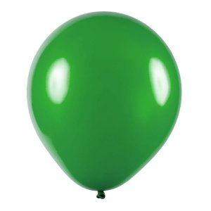Balão de Festa Redondo Profissional Látex Metal - Verde - Art-Latex - Rizzo Embalagens