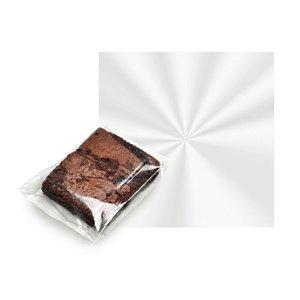 Folha Cristal para Brownie - 20X20cm - 100 unidades - Cromus - Rizzo Embalagens