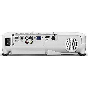 Projetor Epson PowerLite Home Cinema 740HD (RB) 3000 Lúmens HDMI/USB - Branco