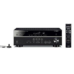 Receiver Yamaha RX-V485 5.1CH USB/ HDMI/ Wifi/ Bluetooth Bivolt