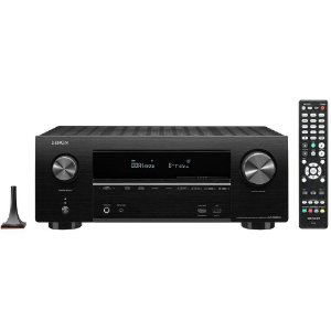 Receiver Denon AVR-X2600H 7.2CH Ultra HD 4K/ HDMI/ Wifi/ Bluetooth