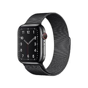 Pulseira Apple Watch Milanese - Preta