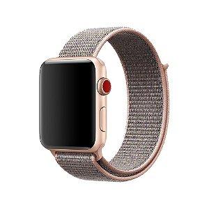 Pulseira Apple Watch Sport Loop - Areia Rosa