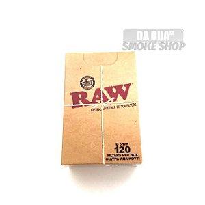 Filtro Raw 6mm (caixa c/ 120)