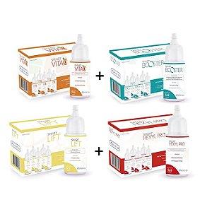 Kit Monodoses 04 Caixas - Hexyl Pro + Booster + Vita C + Lift