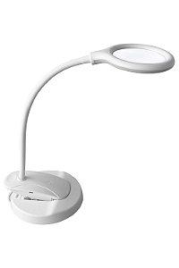 Lupa LED Wireless Apoio de mesa