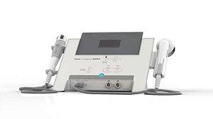 KIT Sonic Compact Maxx HTM - Aparelho de Ultrassom e Correntes para Estética e Fisioterapia + Aplicador Ultrassom Facial 5Mhz