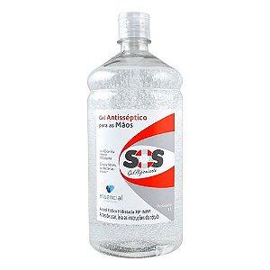 Álcool Em Gel 70% Frasco 1L - Higienizador - Essencial