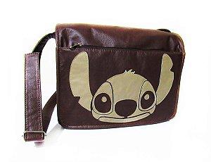 Bolsa Transversal Stitch ou Cãozinho Comp. Notebook de 14'