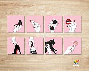 Placas Decorativas Gestos Com A Mão Objetos Mãozinhas