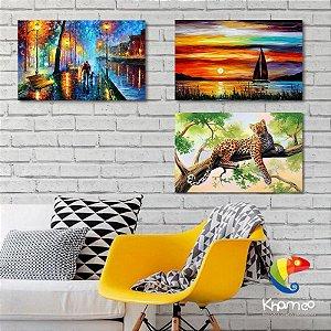 Placas Decorativas Paisagens estilo Pintura