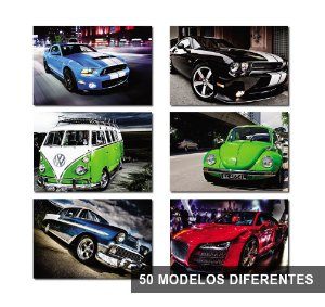 Placas Decorativas Car Carros