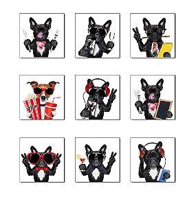 Placas Decorativas Dogs Cachorro Engraçado
