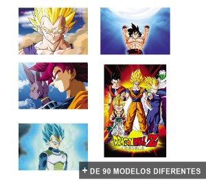 Placas Decorativas Dragon Ball Super DBZ