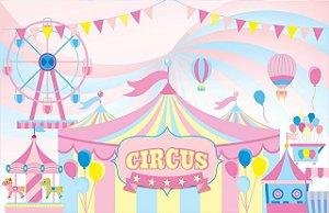 Painel Decorativo Circo