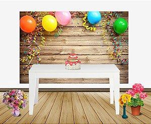 Painel de Festa Aniversário Infantil