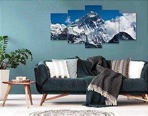 Quadro 5 peças Monte Everest Pontos Turísticos