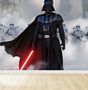 Papel De Parede Adesivo star wars Darth Vader
