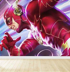 Papel De Parede Adesivo Flash Barry Allen
