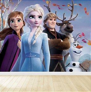 Papel De Parede Adesivo Frozen