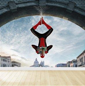 Papel De Parede Adesivo Homem Aranha Vingadores 02