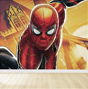 Papel De Parede Adesivo Homem Aranha Vingadores 03
