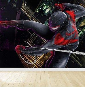 Papel De Parede Adesivo Homem Aranha Vingadores 04