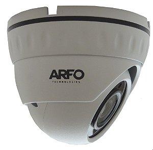 CÂMERA ARFO IP S400 LIRDNS400, IR 30MT, 4MP, 1/3. H.265/H.265+  Com  POE EMBUTIDO