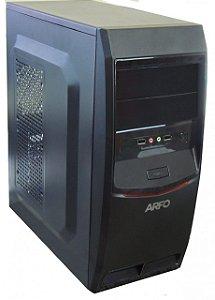 COMPUTADOR ARFO Plataforma J3060 VGA, HDMI E SERIAL INTEL Dual Core J3060, 6 USB, GABINETE ATX COM FONTE ( Sem memoria  e Sem HD)