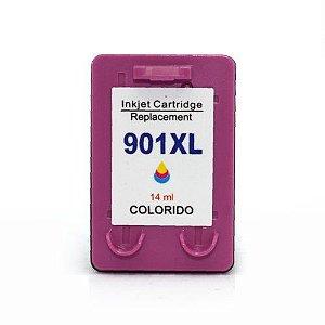CARTUCHO COMPATÍVEL HP 901XL COLORIDO