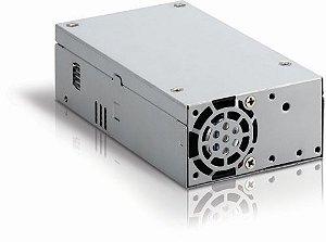 FONTE ITX para Ultratop Arfo  e Outras Marcas - 150W PC-150RLF K-MEX P/ GABINETE  - 2 Conector SATA - 1 Conector ATX12V - 2 Conector de 4 Pinos - 1 Conector ATX20/24 (L=82,A=43, P=150) COM RABICHO