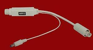 POE Arfo Gigabi - IEEE802.3af 12V 15.4W Suporte 10/100/1000M, ALCANCE 100MT