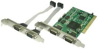 PLACA PCI MULTI-SERIAL COM 4 PORTAS 9 PINOS