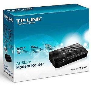 MODEM ADSL ROTEADOR TP-LINK TD-8816