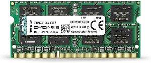 MEMORIA DDR3 8GB 1333MHZ SODIMM- KVR1333D3S9/8G-10600 KINGSTON