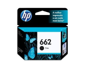 CARTUCHO HP 662 PRETO 2ML