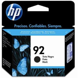 CARTUCHO DE TINTA HP 92 PRETO 5,5ML