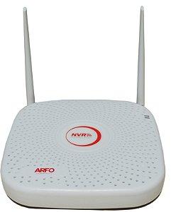 NVR ARFO AR-2008W SMART DIY (INSTALE VOCE MESMO), Modelo AR-2008w, 9 Canais (8 Canais Wireless (wifi) /Ip cabo + 5 Ip cabo)