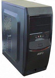 COMPUTADOR ARFO Plataforma J3060 VGA, HDMI E SERIAL INTEL Dual Core J3060, 6 USB, GABINETE ATX COM FONTE, MEMORIA 2GB (Sem HD)
