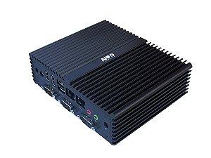 MINI PC INDUSTRIAL ARFO MOD. AR-450, PROCESSADOR I5, 8GB, 256GB SSD, 4 SERIAL, 6 USB, 2 HDMI, 2 LAN, PADRÃO VESA  (wi-fi opcinonal nao incluso) com linux