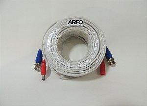 CABO BNC ARFO MOD. AR-L18HT P/ CAMERAS 18MT AHD/CVI/TVI/CVBS