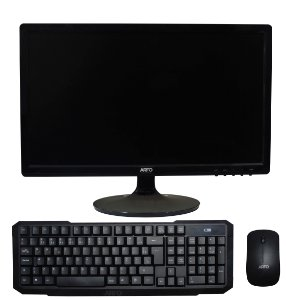 ARFO ALL IN ONE, AR-1210, MINI INTEL CORE I3 VESA, MONITOR 18,5, 4Gb ssd120, TECLADO E MOUSE SEM FIO ARFO, COM LINUX