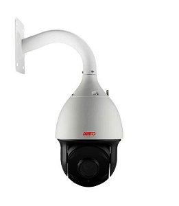 Câmera de segurança speed dome Arfo IP  Mod. AR-PTZ-SL200, 2MP, IR 120MT, H.265, ZOOM 22X, StarLight