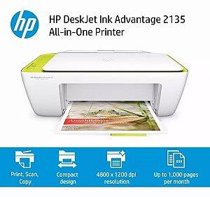 Impressora All-in-One HP Deskjet Ink Advantage 2135