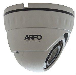 CÂMERA DE SEGURANÇA DOME ARFO IP/POE AR-LIRDN-S400, IR 30MT, 4MP, 1/3. H.265/H.265+  Com  POE EMBUTIDO