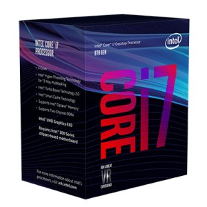 PROCESSADOR INTEL CORE I7 8700 8TH 3.2GHZ 12MB CACHE